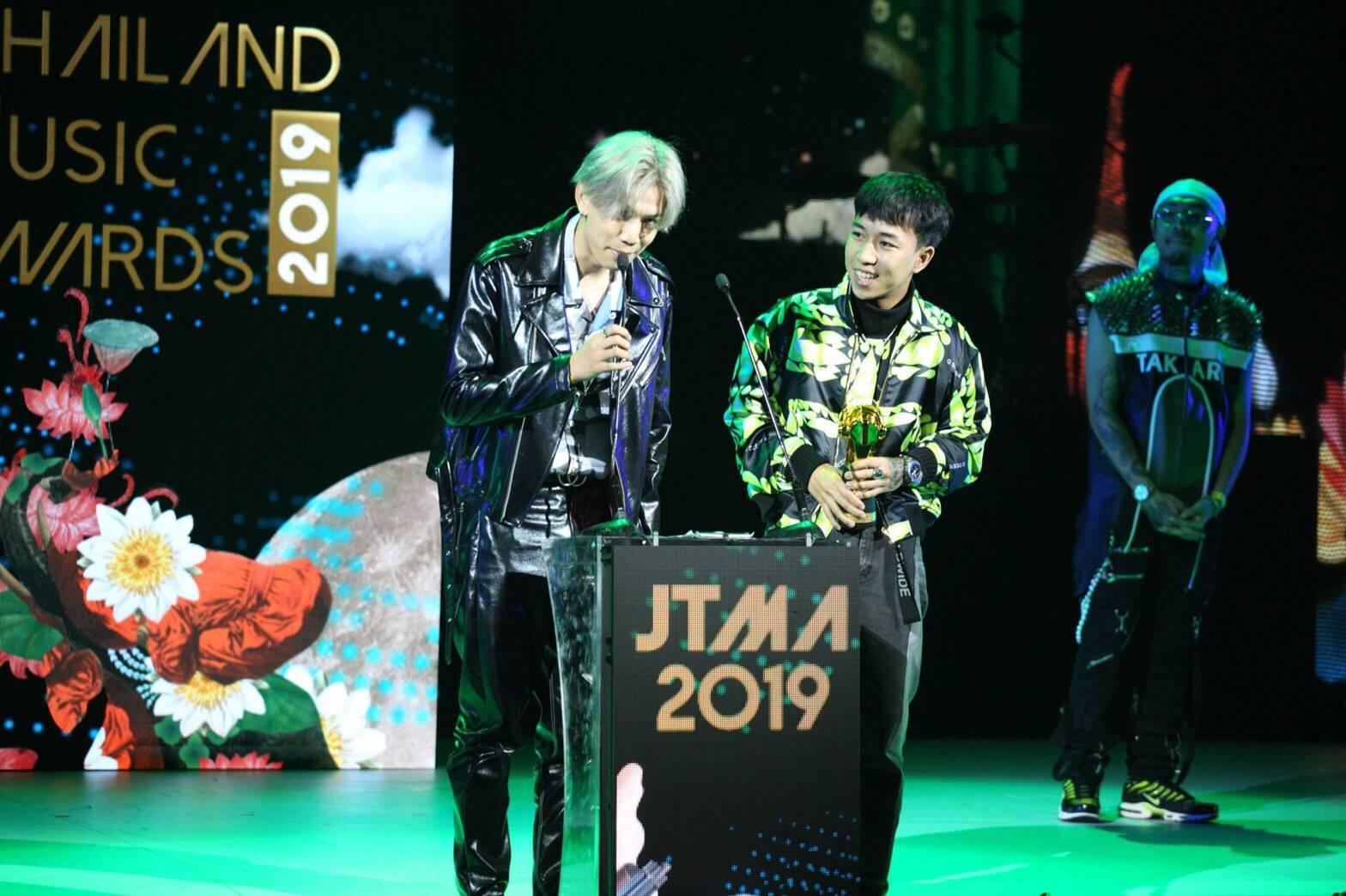 """ผลรางวัล """"JOOX Thailand Music Awards 2019"""""""