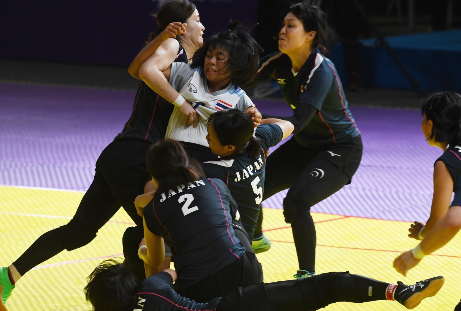 """""""กาบัดดี้"""" หรือ """"ตี่จับ""""  กีฬาอายุ 4,000 ปี ที่สนามเอเชียนเกมส์ 2018"""