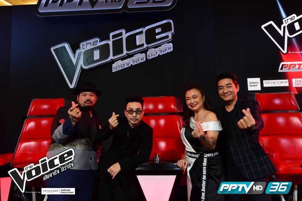 """ชมสด """"The Voice 2018"""" ที่เว็บไซต์ PPTVHD36.COM ได้แล้วนะ..รู้ยัง"""