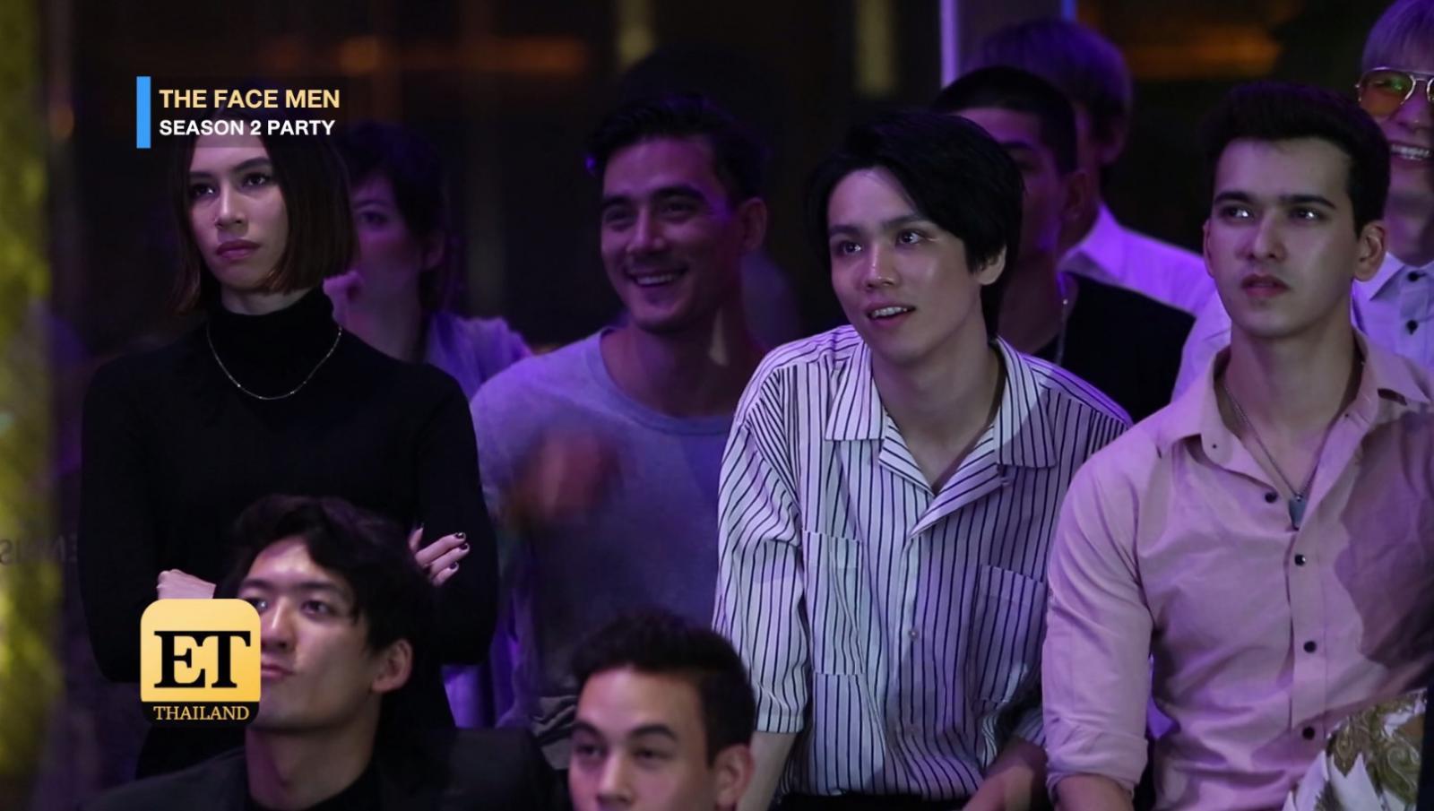 """เอ็กซ์คลูซีฟ  Party ฉลอง """"THE FACE MEN THAILAND  2"""" ออนแอร์เทปแรก"""