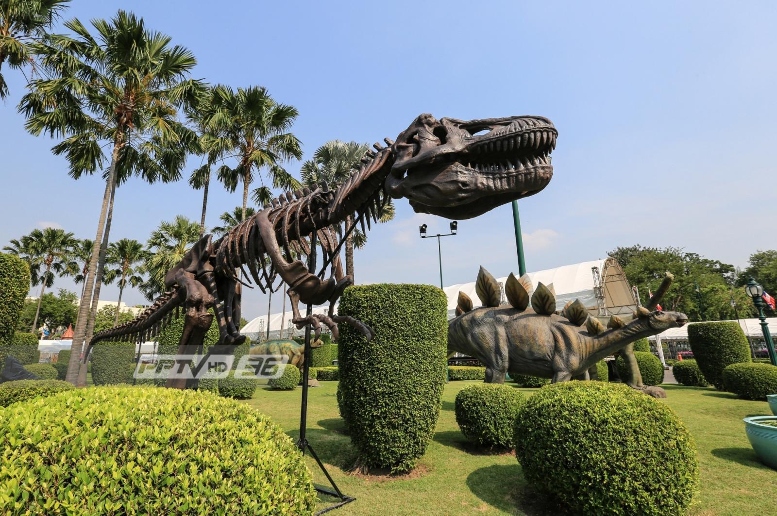 จัดเต็ม !! สัตว์โลกล้านปี บุก ทำเนียบ ฉลองวันเด็กปี 62