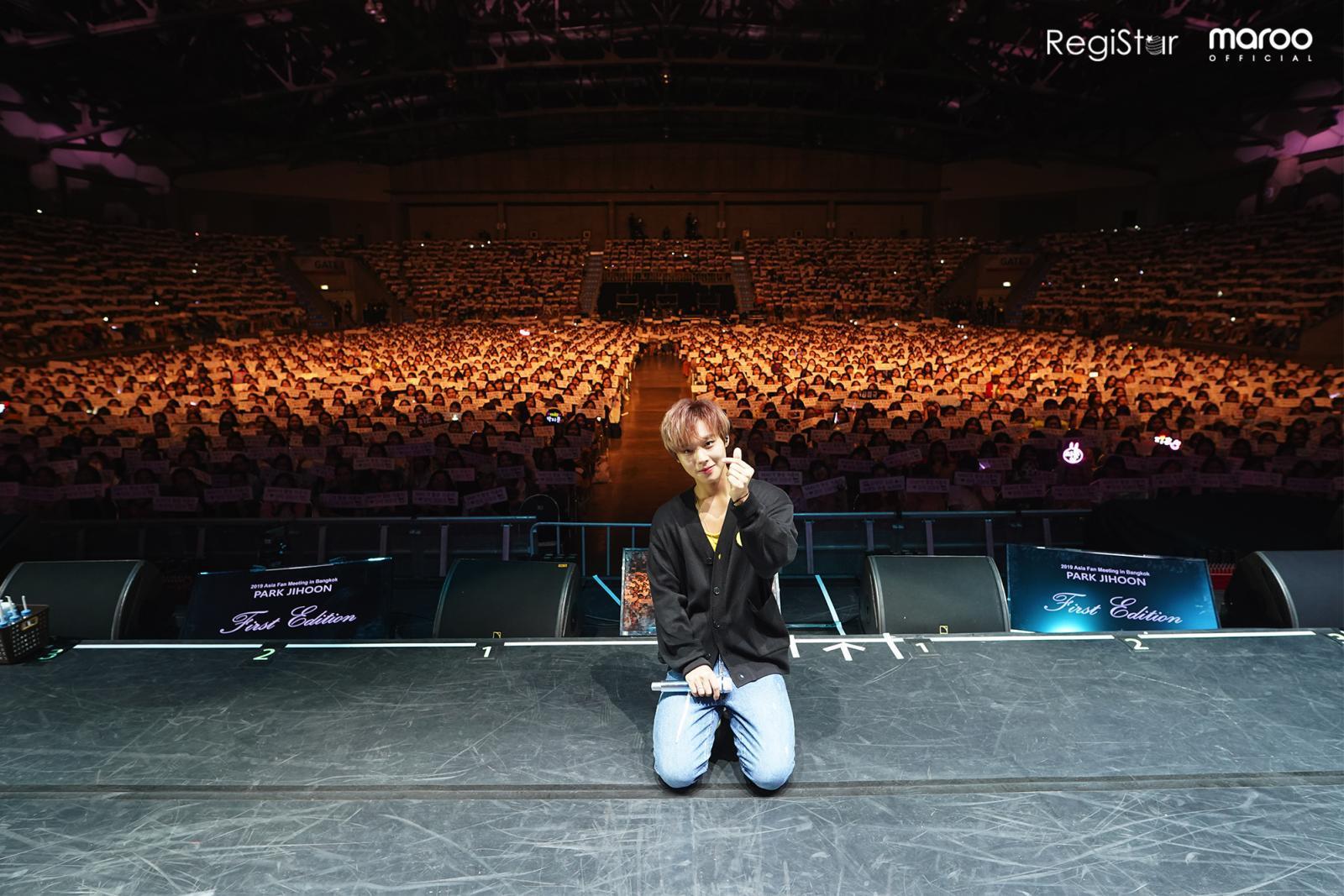"""บรรยากาศสุดประทับใจ แฟนมีตติ้งครั้งแรกในไทยของ """"พัค จีฮุน"""""""