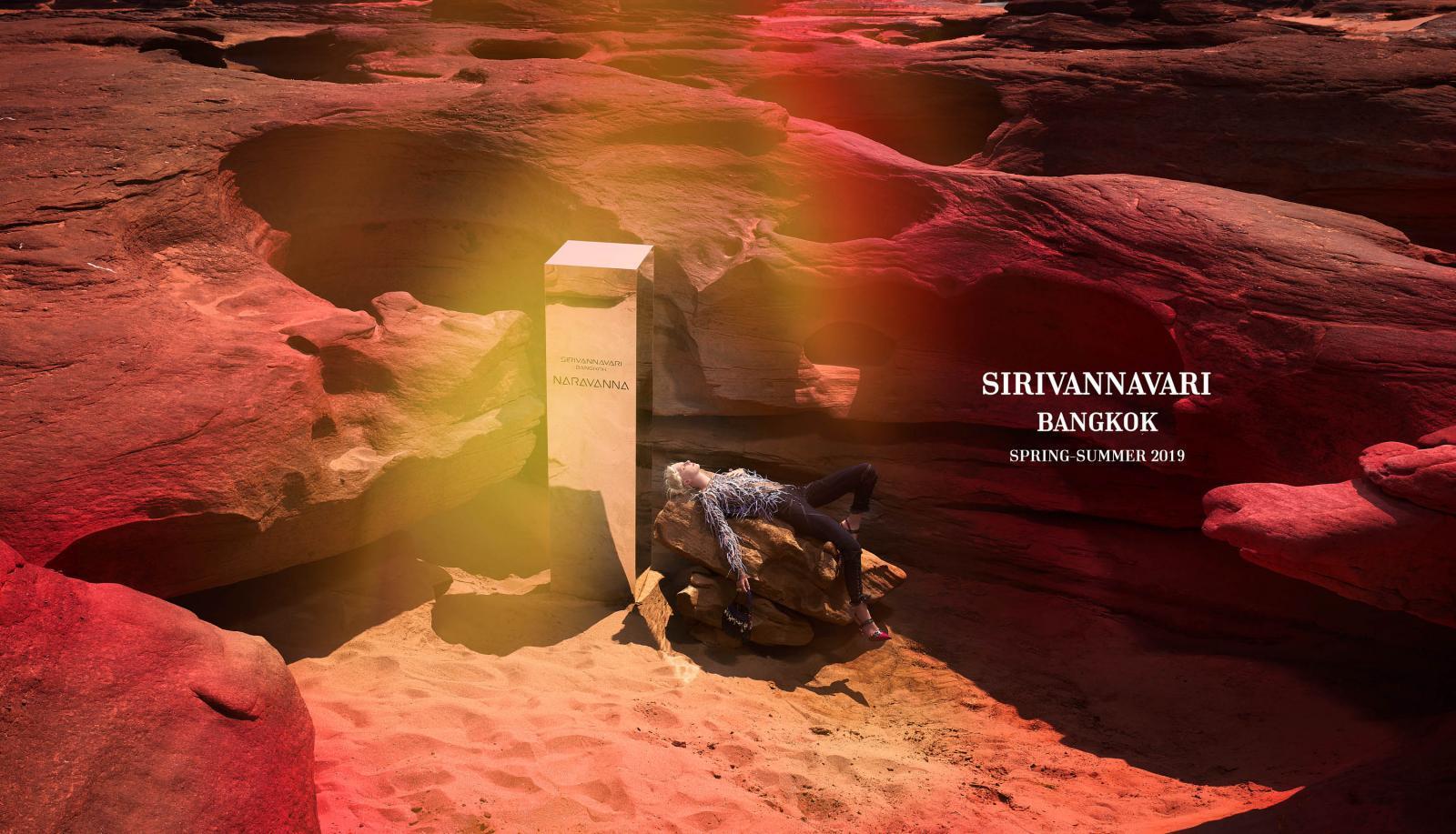 """เตรียมพบกับแฟชั่นโชว์เปิดตัวคอลเลคชั่นทรงออกแบบสปริง/ซัมเมอร์ 2019 โดยพระเจ้าหลานเธอพระองค์เจ้าสิริวัณณวรีนารีรัตน์ภายใต้แบรนด์ """"SIRIVANNAVARI"""""""