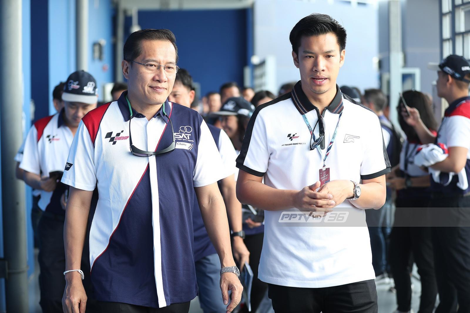 รมต.กีฬา ตรวจความพร้อมสนามช้างฯ ก่อนแข่งไทยแลนด์กรังด์ปรีซ์