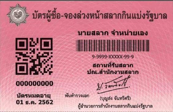 กองสลากฯ ออก บัตรผู้ซื้อ – จองล่วงหน้าฯ เข้มผู้ค้าแสดงบัตรหน้าแผง เริ่มก่อนงวด 16 มี.ค. 62