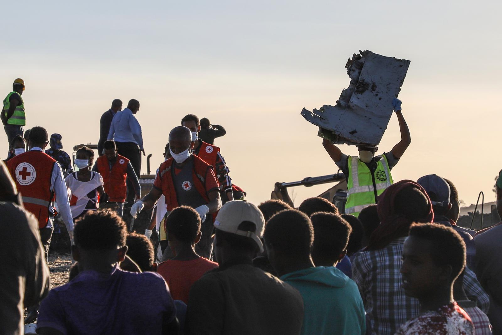 """""""เอธิโอเปียนแอร์ไลน์"""" ตก เสียชีวิตยกลำ 157 คน"""