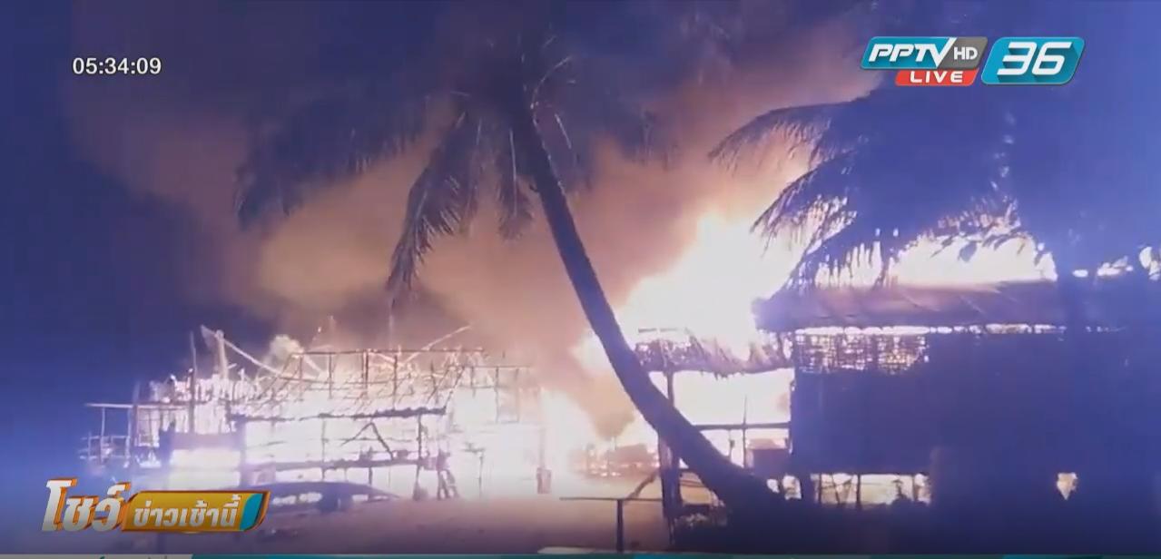 """ผู้ว่าฯพังงา ประกาศมู่บ้าน """"มอแกน""""  เป็นพื้นที่ประสบภัย หวังเร่งช่วยเหลือ"""
