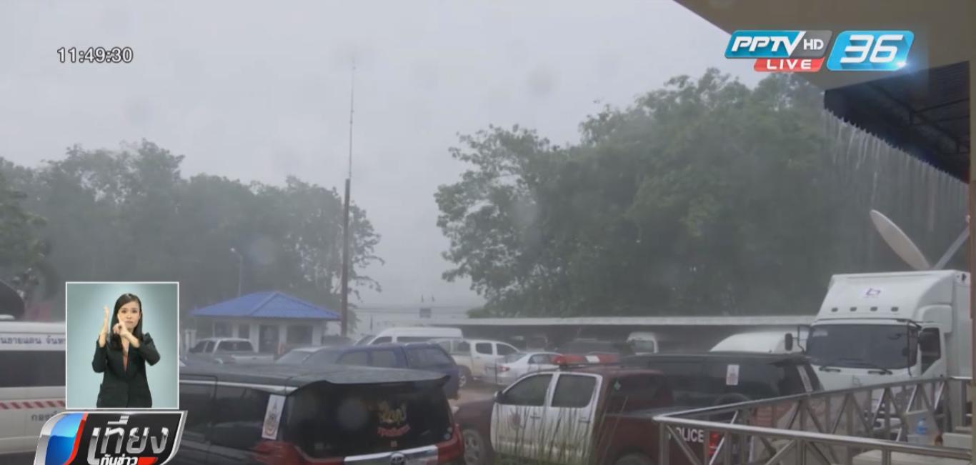 พายุพัดกระหน่ำชัยภูมิ ตลาดเทศบาลบ้านค่ายพังเสียหาย