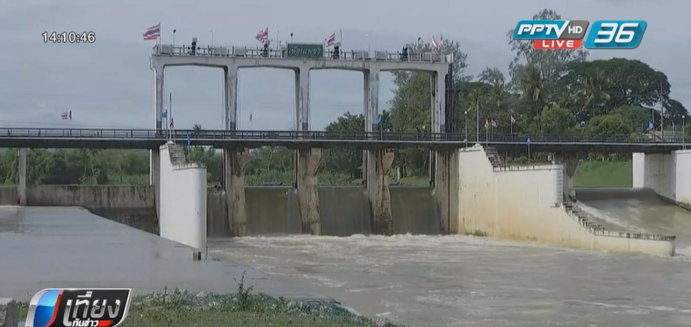 น้ำท่วมเมืองเพชรดีขึ้น หลังเขื่อนเพชรปล่อยน้ำลดลงต่อเนื่อง