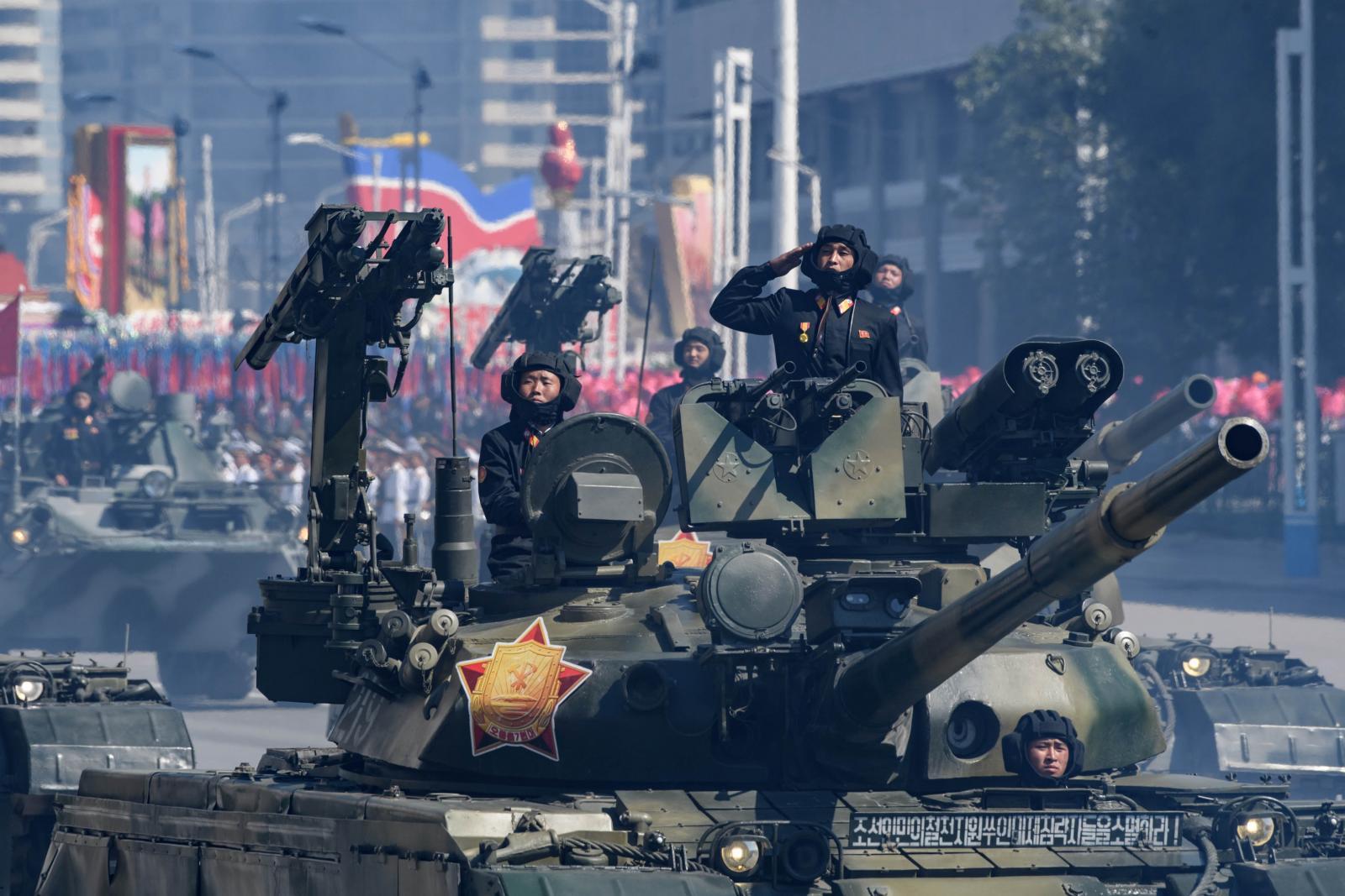 โสมแดงไม่โชว์ขีปนาวุธข้ามทวีปในพิธีฉลองก่อตั้งประเทศ