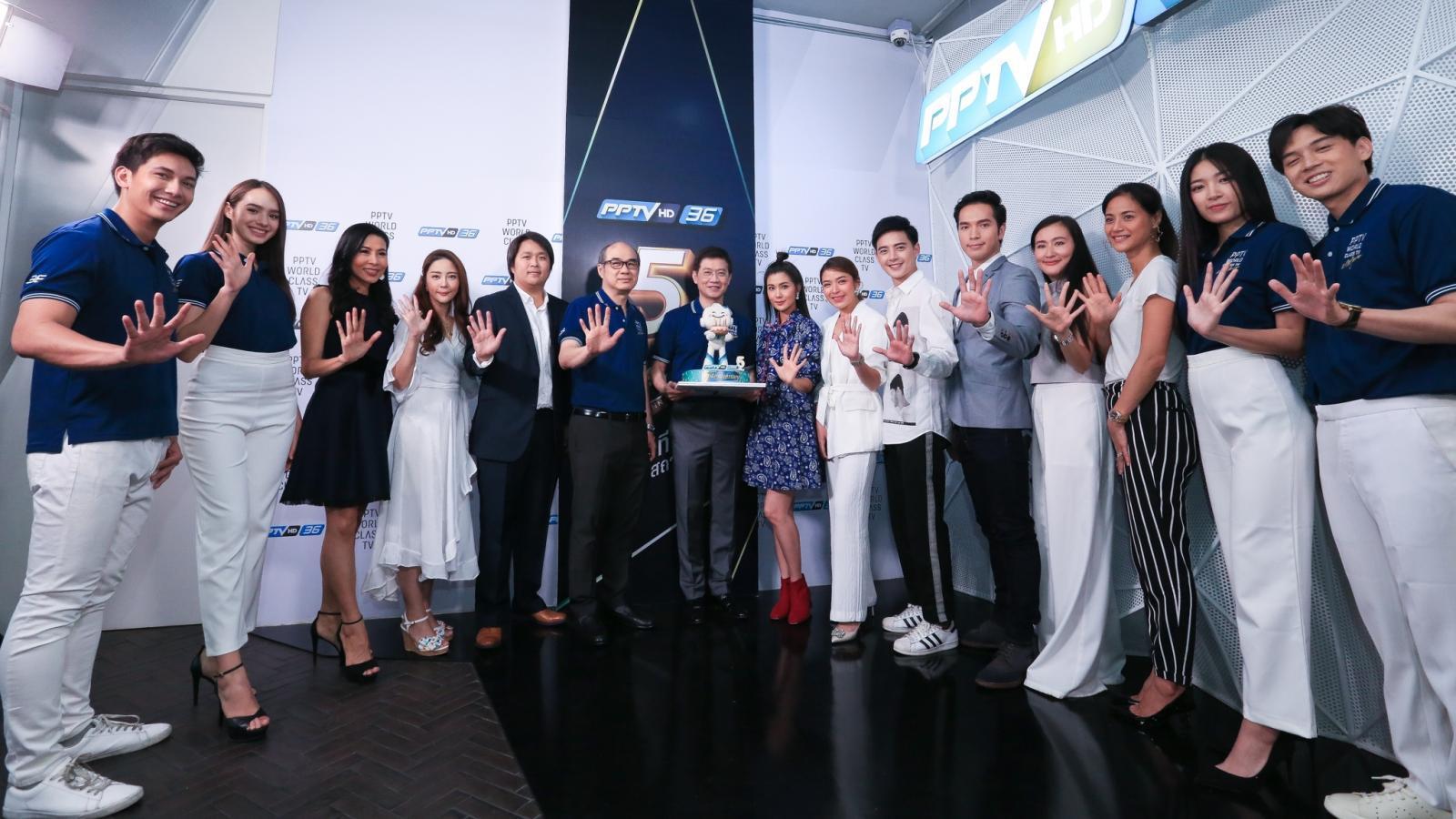 ครบรอบวันเกิด PPTV HD 36 ก้าวเข้าสู่ปีที่ 5