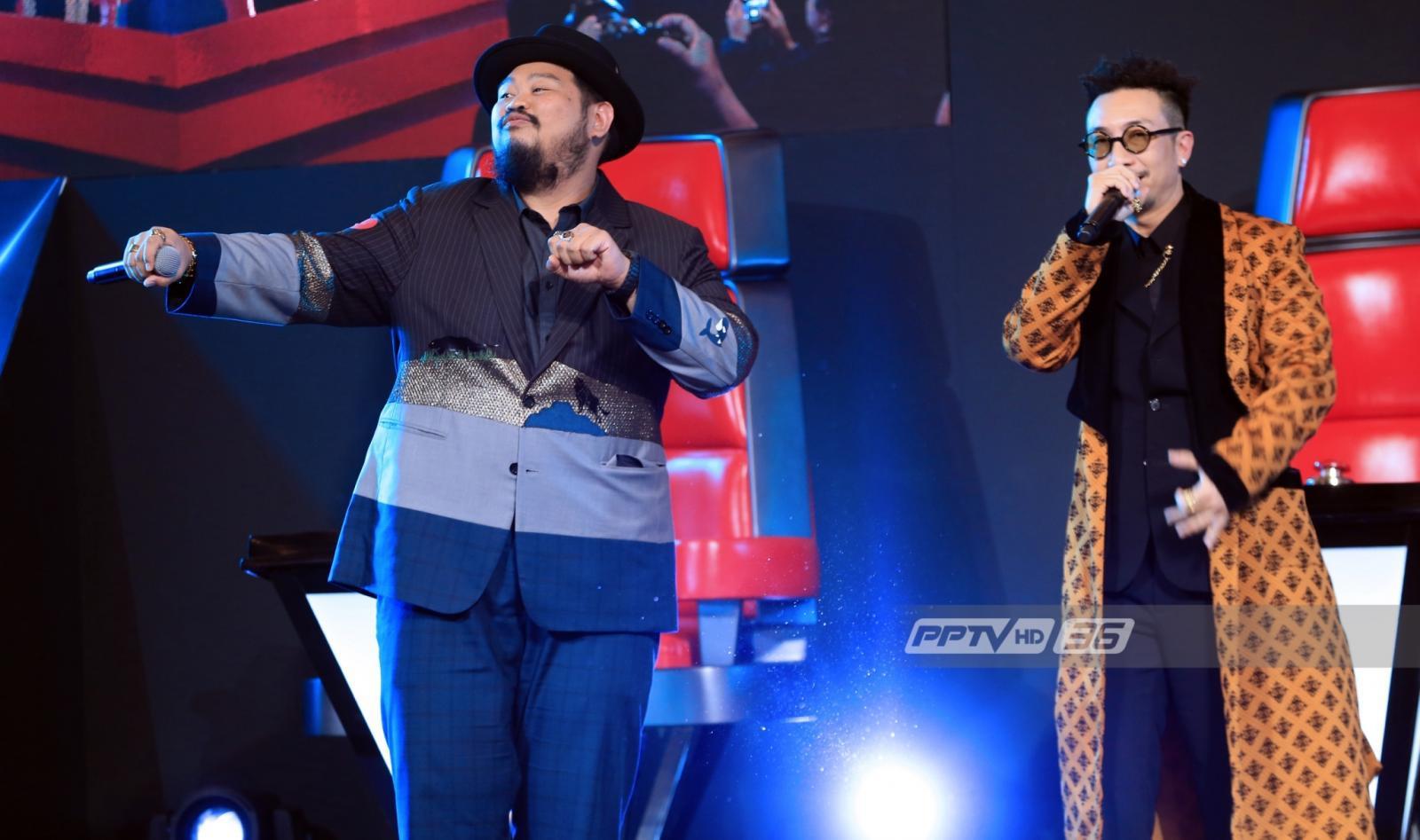 """The Voice 2018"" เปิดตัว 4โค้ช ลงผัง PPTVHD 36 เริ่ม 19 พ.ย.61"