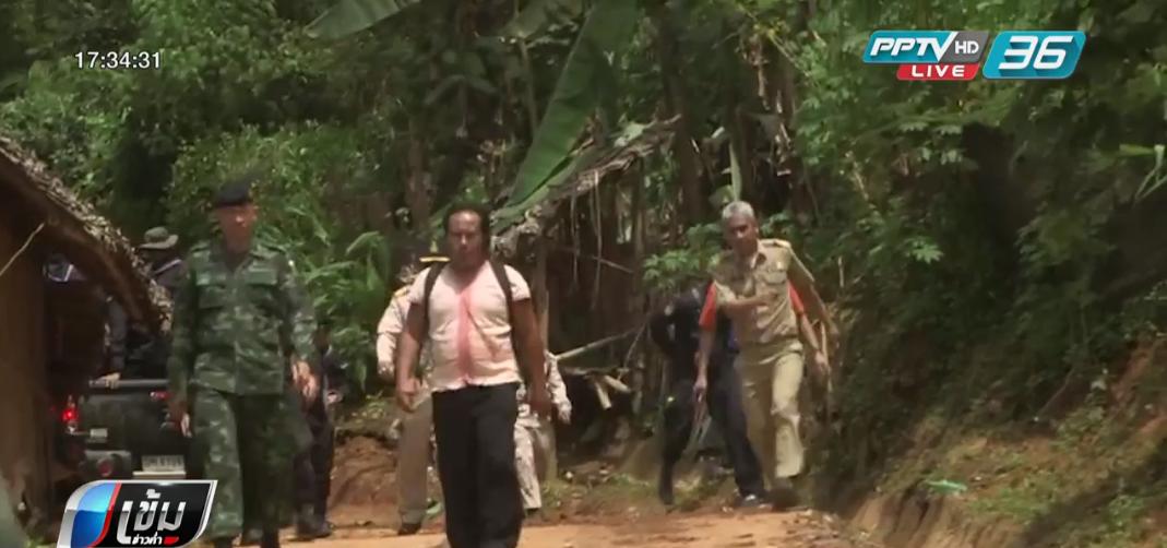 เร่งค้นหาผู้สูญหาย 7 คน เหตุดินโคลนถล่มศูนย์อพยพ อ.สบเมย