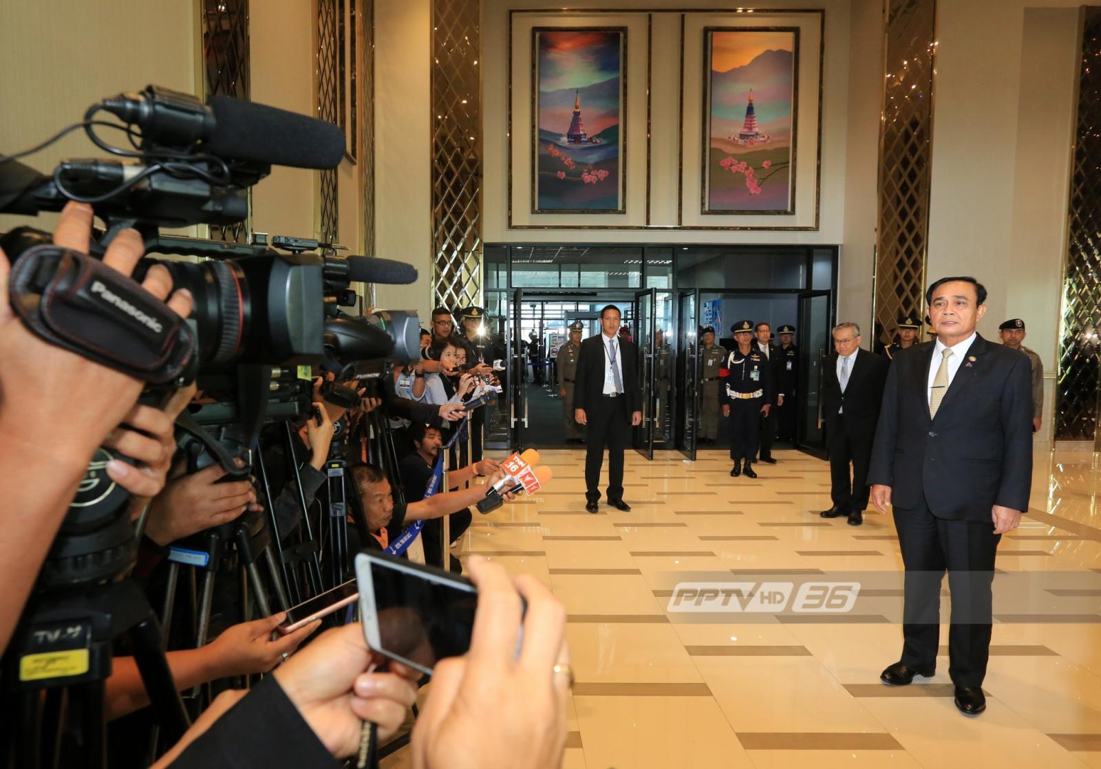 """""""บิ๊กตู่"""" ลั่นไม่มีใครอยากทำรัฐประหาร ยันผู้นำต่างชาติเข้าใจการเมืองไทย"""
