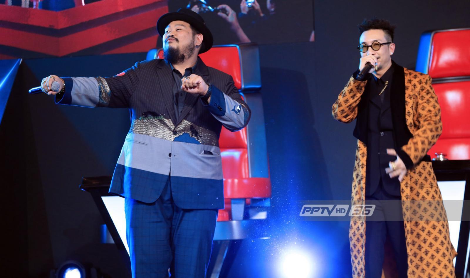 """เปิดประวัติโค้ช """"The Voice Thailand"""" เฟ้นหา เสียงจริง ตัวจริง"""