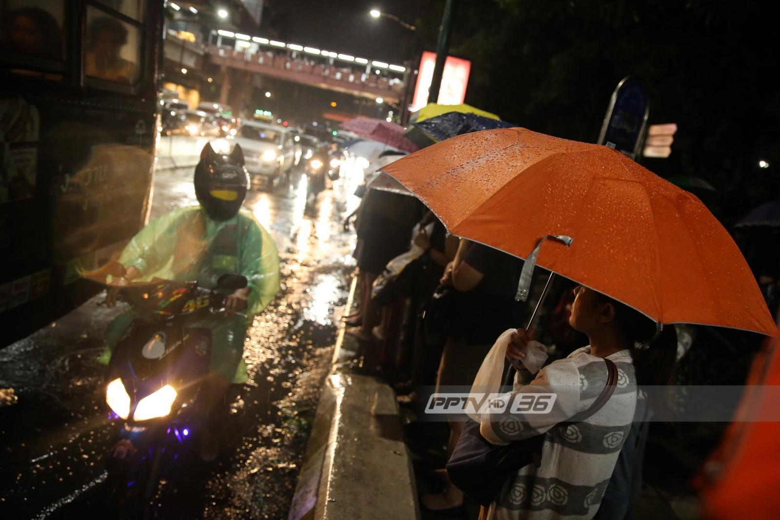 อุตุฯ ชี้ วันนี้ทั่วไทยมีฝนร้อยละ 20-70