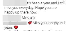 """ครบรอบ 1 ปี สูญเสีย """"คิม จงฮยอน"""" SHINee  แฟนคลับโพสต์อาลัย"""